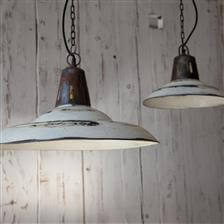 Read more about Distressed White Shimla Pendant Light